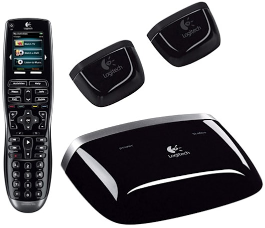 Logitech's Harmony 900 remote controls components behind closed doors