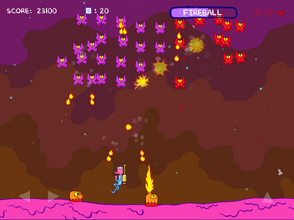 Pixeljam's Glorkian Warrior glorks all over iOS devices this year