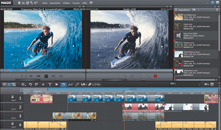 MAGIX intros Video Pro X editing software with Blu-ray support