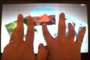 Cypress demos 14-inch TrueTouch capacitive multitouch screen