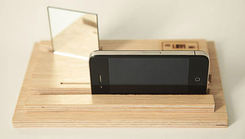 The Love Box is an analog video mixer, house of mirrors for your iPhone (video)