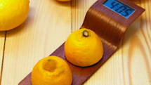 Artsy Citrus Clock turns lemons into time of day