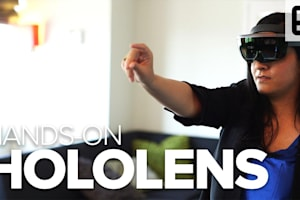 Hands-on: HoloLens