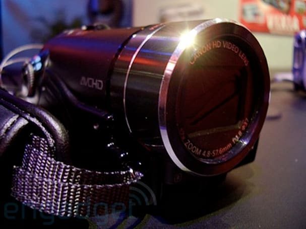 Video: Canon's VIXIA HF10 16GB dual-flash camcorder hands-on