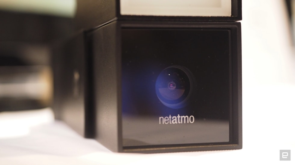 Netatmo's security cam can pick out cars, humans and animals
