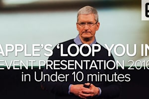 "Apple's ""Loop You in"" Event in Under 10 Minutes"