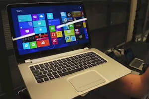 HP 15-Inch Spectre XT TouchSmart Hands-on - IFA 2012