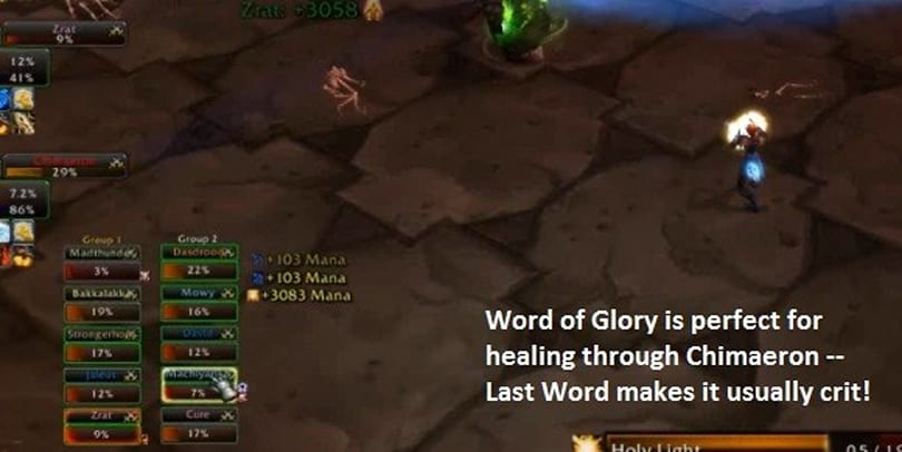 The Light and How to Swing It: Holy paladins and holy power