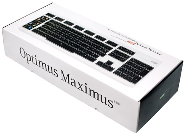 Engadget's 5th birthday giveaway, part 1: win an Optimus Maximus keyboard!