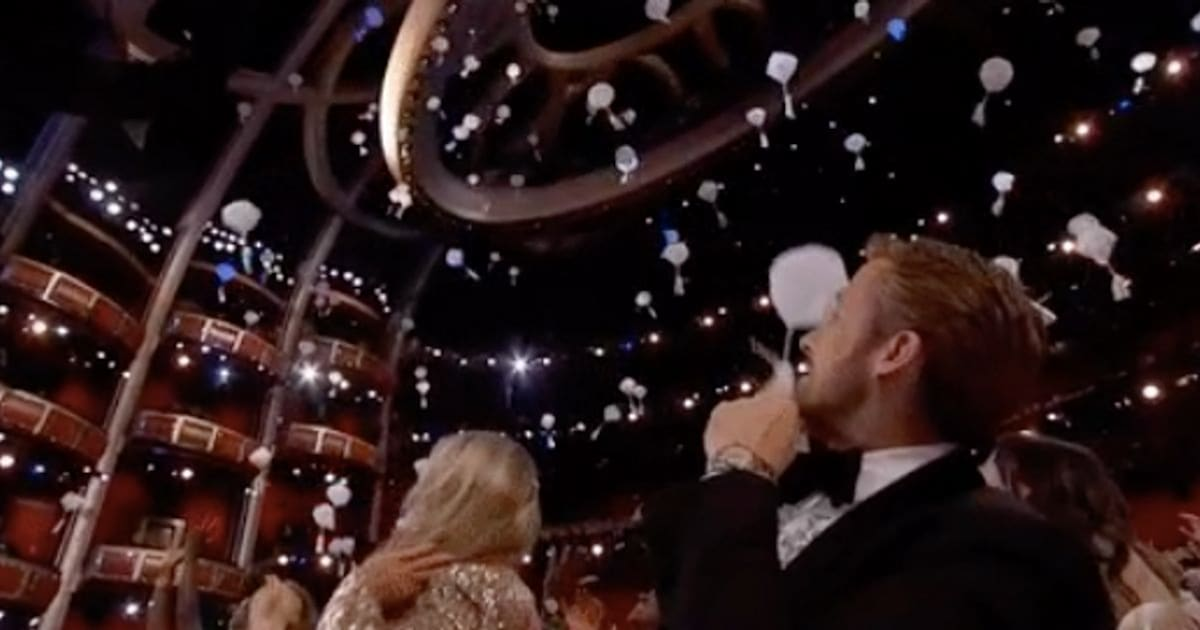The Oscars Air Drop Food To Celebrities In The Ultimate Hunger Games
