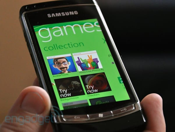 Windows Phone 7's short-term future includes phone-to-console gaming, Twitter?