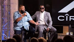 "Sean ""Diddy"" Combs And DJ Khaled Discuss Their First Jobs"