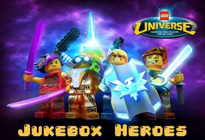 Jukebox Heroes: LEGO Universe's soundtrack