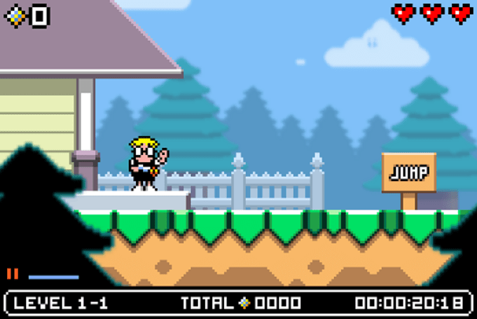 Mutant Mudds 2 is in progress
