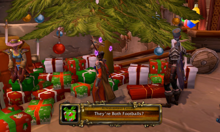 Reminder: Don't forget your in-game Winter Veil gifts