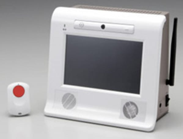 NTT DoCoMo's latest FOMA device aids the elderly
