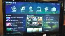 Boxee Box interface demo video