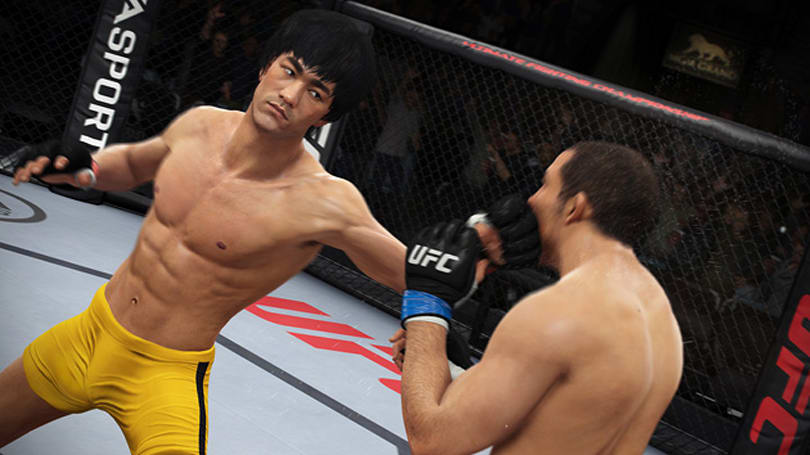 EA Sports' UFC game bends reality by letting you fight as Bruce Lee