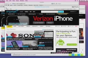 Mac OS X Lion Preview