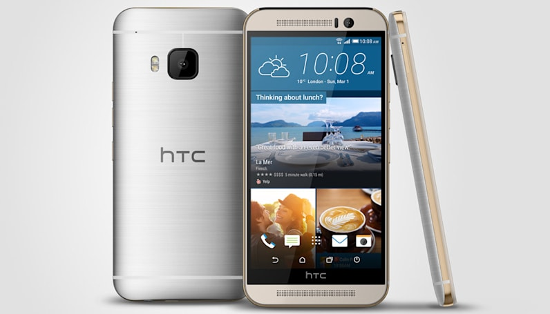 This is the HTC One M9