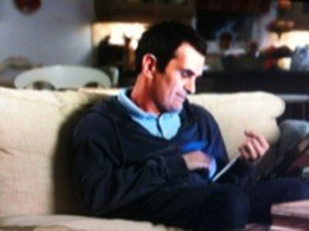 iPad the star of Modern Family