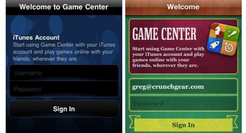 Game Center gets a new look
