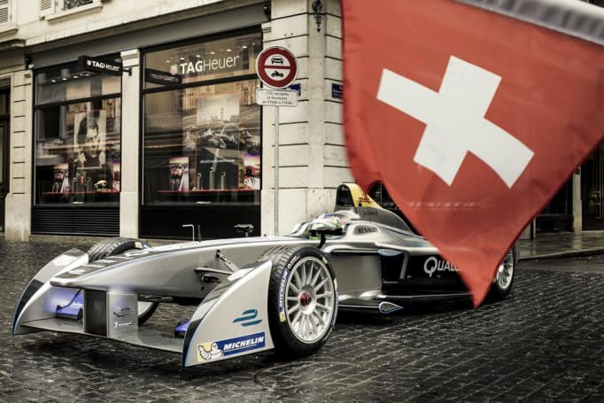 Switzerland's 50-year racing ban will change with Formula E