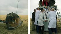 Soyuz space capsule landing captured in an awesome set of pictures