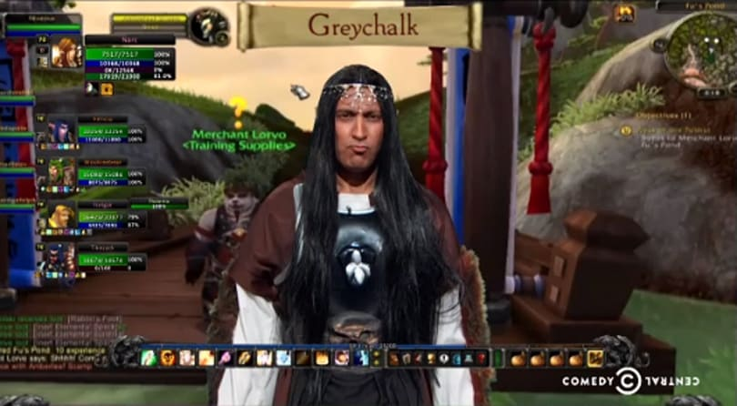 Jon Stewart slams the NSA with World of Warcraft