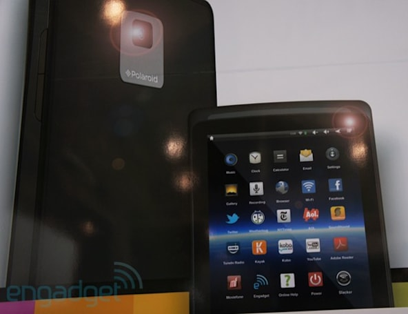 Polaroid launching new tablet, color screen e-reader at CES?
