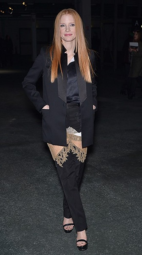 Jessica Chastain's See-Through Pants: Big Mistake or Sheer Perfection?