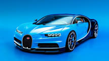 Bugatti Chiron blasts into Geneva with nearly 1,500 hp