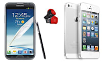 Apple and Samsung to spar over iPhone 5, Galaxy Note II at next trial
