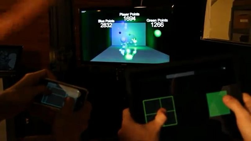 Kinect hackers give us iOS-friendly dodgeball and Human Tetris