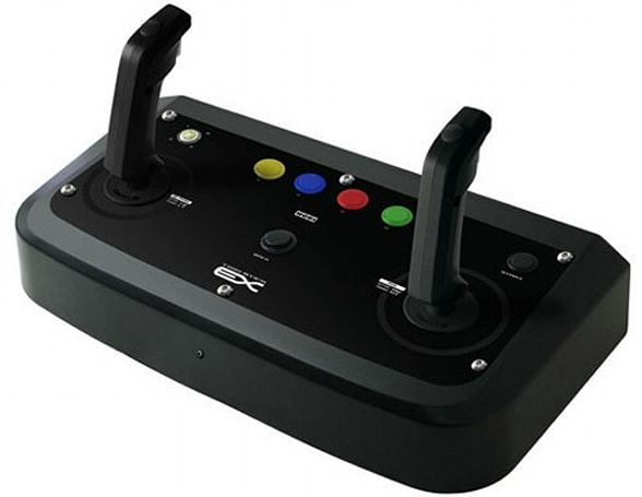 HORI's revamped TwinStick EX: fit for Virtual On addicts only