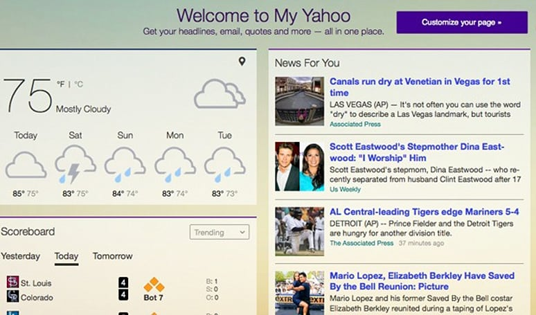 My Yahoo gets DJ-approved overhaul