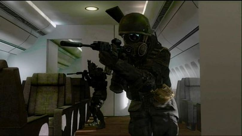 CoD 4: Over 10 million served, 2.8% survive 'Airplane' on veteran