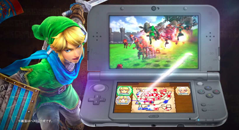 'Hyrule Warriors' hacks and slashes its way to 3DS