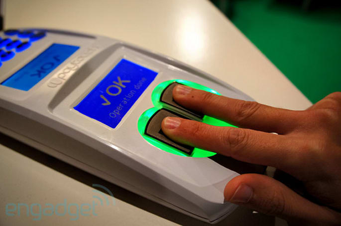 Paytouch lets your fingerprints make purchases, hopes to expand into Europe and America next year