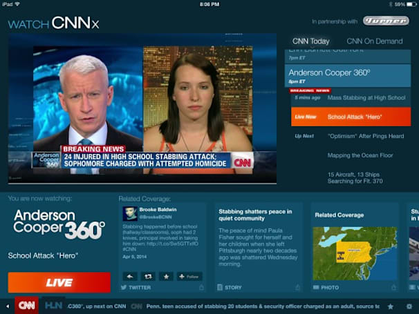 Now (almost) anyone (with cable) can watch CNN the way they want to