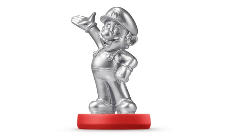 Silver Mario Amiibo will drive collectors insane this month