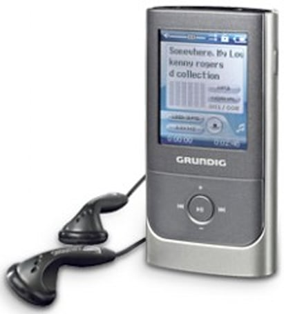 Grundig's MPixx 2000-series digital audio players