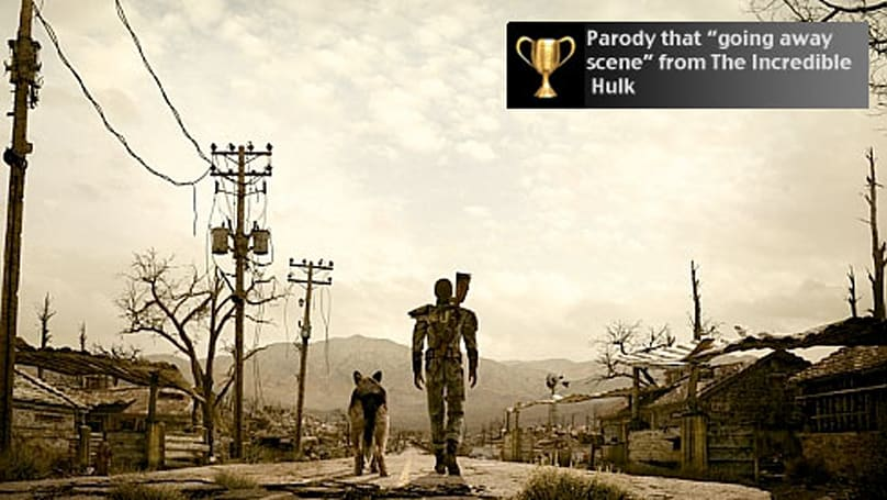 Fallout 3 PS3 patch adds Trophies, squashes bugs