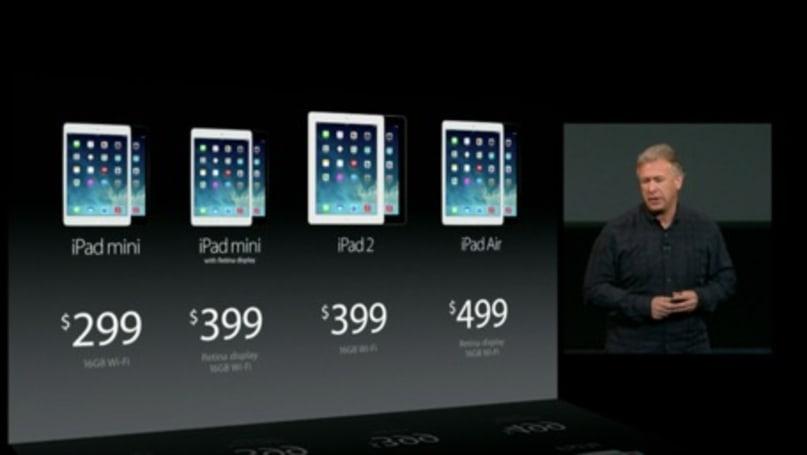 iPad mini with Retina display announced, original iPad mini sees a price drop