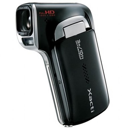 Sanyo Xacti DMX-CA100 joins the 'waterproof pocket HD camcorder' crew