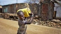 Kenyan slums dispense clean drinking water through ATMs