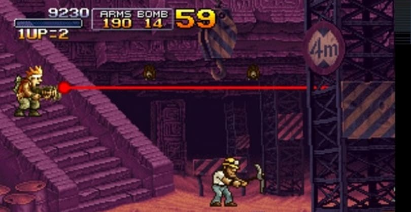Metal Slug X files are out there on Steam, releases in Oct.