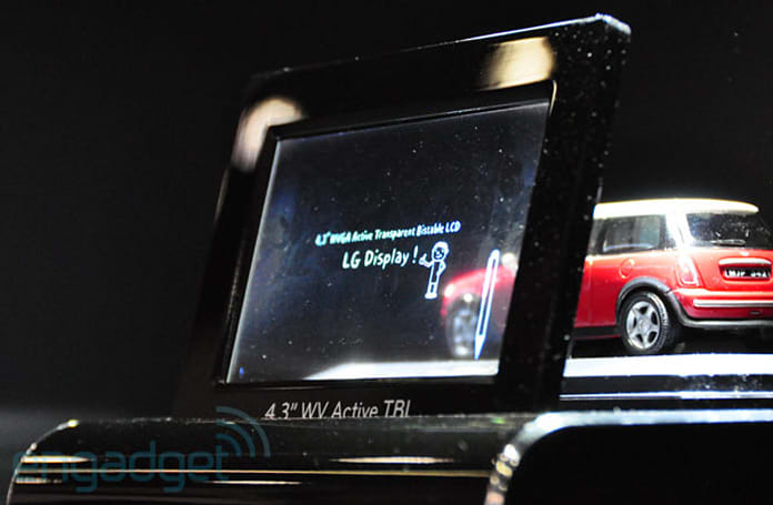 LG Display's 4.3-inch bistable display concept eyes-on (video)