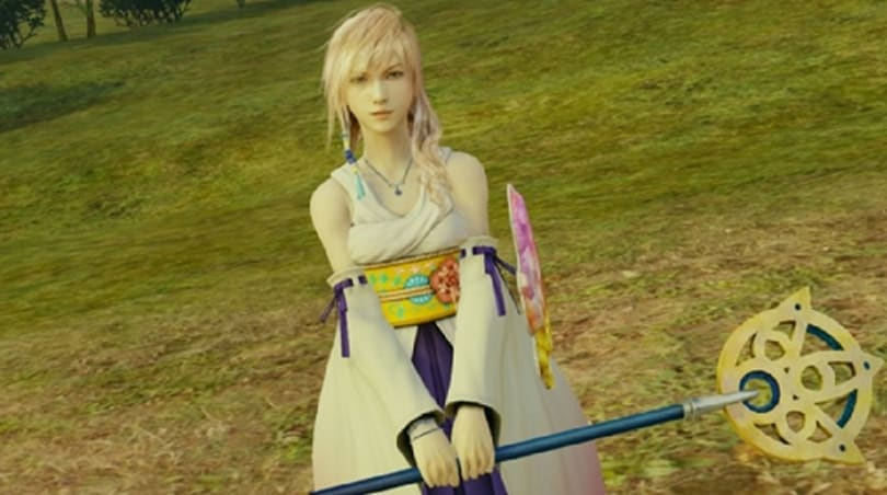Lightning Returns to find Final Fantasy X's Yuna all up in her wardrobe