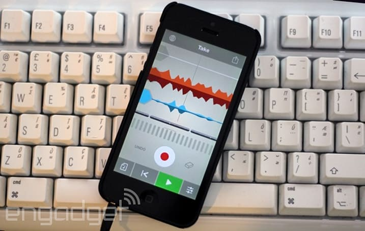 Mix beats and loop vocals with Propellerhead's Take for iOS